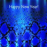 Snake New Year Background