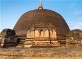 Rankoth Vehera Stupa Front Polonnaruwa Buddhist