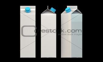 milk packages