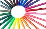 Colorful Marker Circle