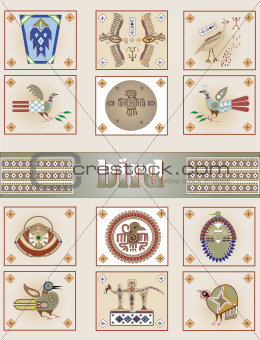 American Indian bird