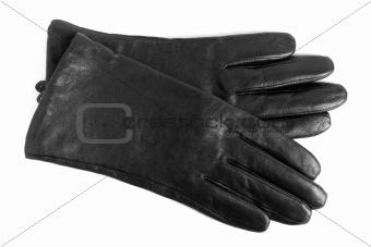 Black women gloves