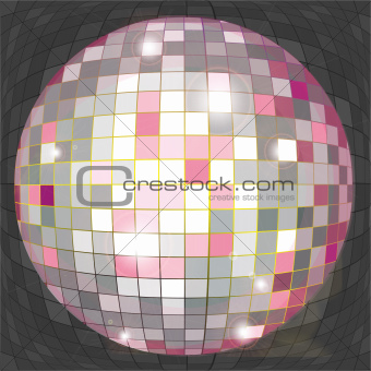 Disco ball web