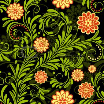Vntage seamless pattern