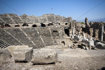 Greek Ruins, Side, Turkey