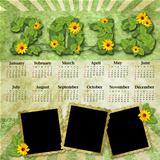 Vintage calendar 2013
