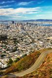 San Francisco view from twin peaks