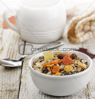 Breakfast With Muesli