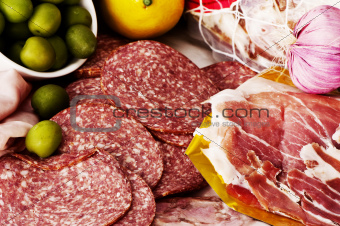 deli: assorted smallgoods