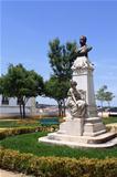 Public park in Evora
