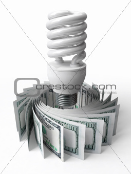energy saving bulbs and money