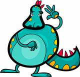 cartoon dragon funny fantasy creature