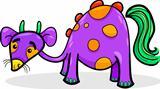funny fantasy creature cartoon
