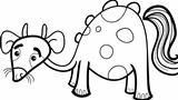 cartoon fantasy creature for coloring