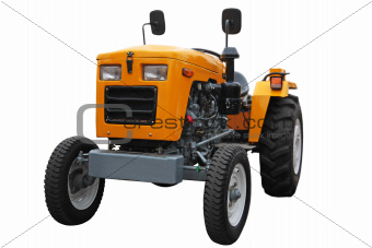 Wheel tractor