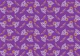 Seamless pattern with Christmas bells