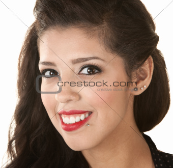 Beautiful Woman Head Shot
