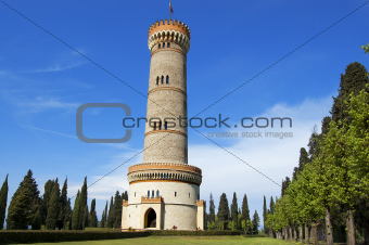 Tower - San Martino della Battaglia - Brescia Italy