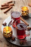glass of mulled wine