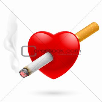 Smoking kill heart