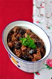 Pork, Prune and Port Ragout
