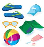 Beach fun items