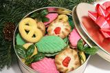 Christmas Cookies Under the Tree