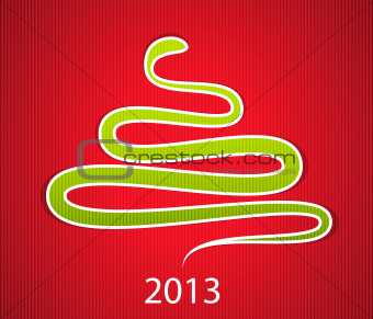 2013 gift card with snake