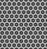 Seamless geometric texture in op art design.