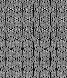 Seamless op art geometric texture.