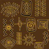 African motifs background