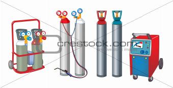 welding cylinders