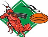 Crayfish Lobster Target Skeet Shooting