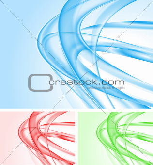 Wavy backdrops collection