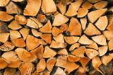 Biomass firewood