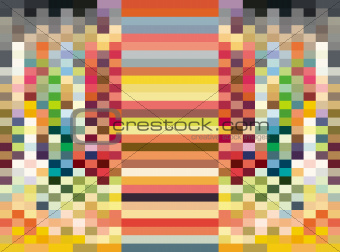 abstract pattern rainbow