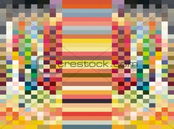 abstract pattern rainbow