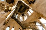 Inside the Bell Tower of Saint Duje Cathedral in Split, Croatia