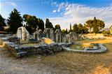 Church Ruins in the Ancient Town of Salona near Split, Croatia