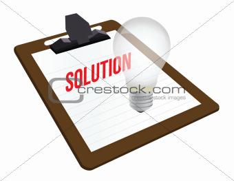 clipboard solution illustration