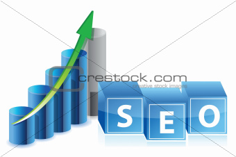 sep business graph illustration design