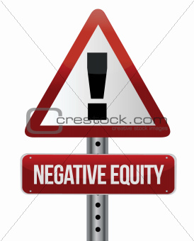 negative equity sign