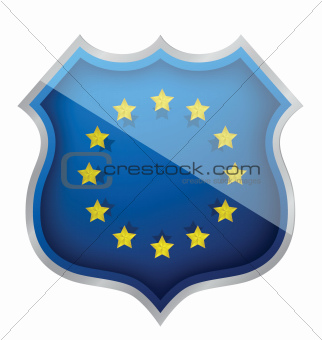 european shield illustration