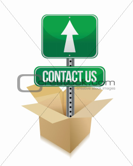 contact us illustration design