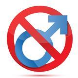 men not allowed sign
