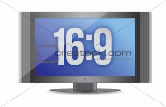 16:9 flat screen monitor