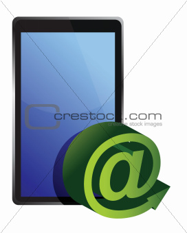 tablet mail