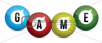 game balls sign