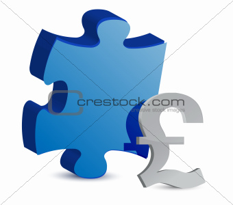puzzle and pound illustration design