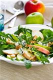 Apple and Blue cheese salad
